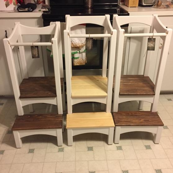 3 helper stools